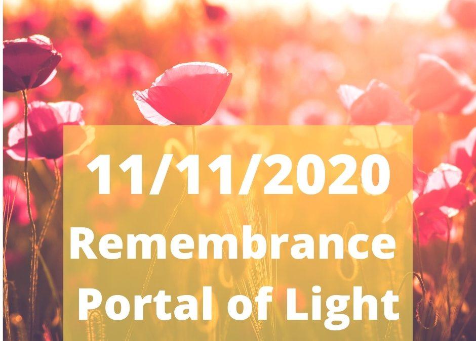 11/11/2020 Remembrance Day Portal.